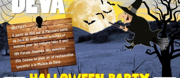 Halloween Party - Domaine de DEVA - 4 novembre