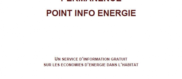 Permanence Point Info Energie
