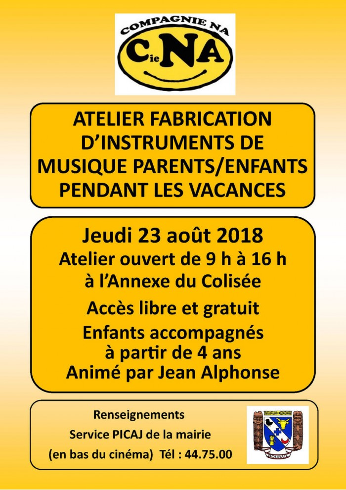 Info Atelier fabrication dinstruments